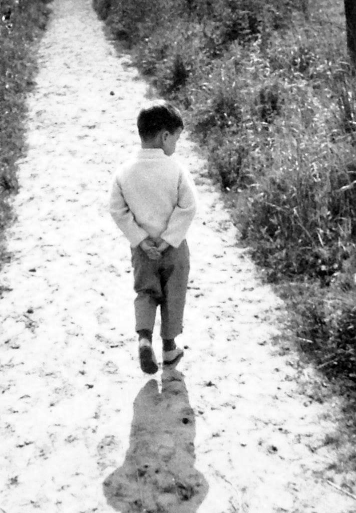 Dirk Trost in jungen Jahren