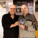 Dirk Trost, Benefizlesung in der Notübernachtung der Berliner Kältehilfe, 23.11.2014