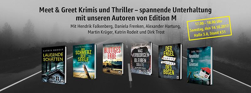 Meet&Greet auf der Frankfurter Buchmesse 2017